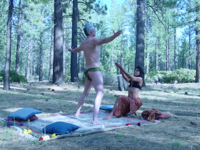 2007 Prana Tantra Intensive in the deep forest with Del Mar