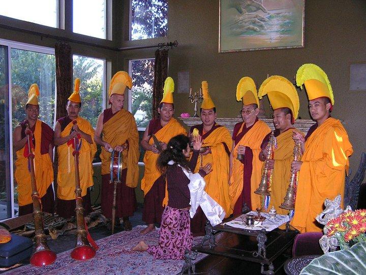 Gaden Shartse Monastery awards DeviLisa