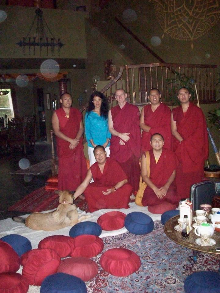 Vajrasattva meditation and recitation